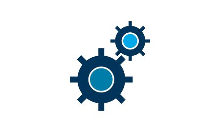 Processing icon vector, flat design best vector icon