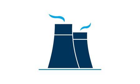 Power Station icon vector illustration. Illusztráció