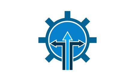 Logistics Management icon vector illustration.