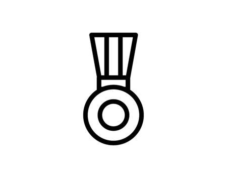 Medal award vector image
