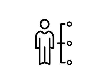 Business Management Icon Ilustracja