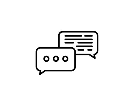Conversation discussion icon vector image