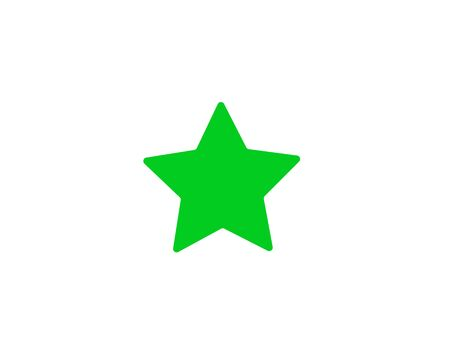 Star icon favorite symbol vector image