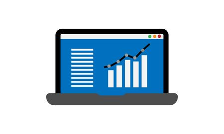 adwords campaign vector icon - vector Illustration