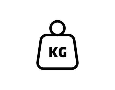 Weight kilogram icon vector image