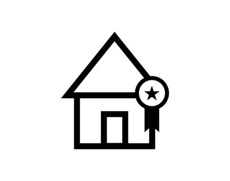 Best home first place award icon vector image