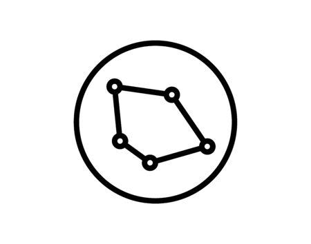 Database sign icon - Vector Иллюстрация