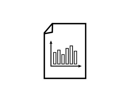 report document icon - Vector