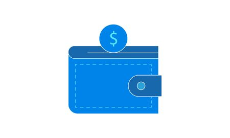Wallet icon e commerce and marketing vector image 矢量图像