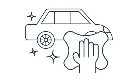 Car wash vector icon . Can be used for web and mobile apps.