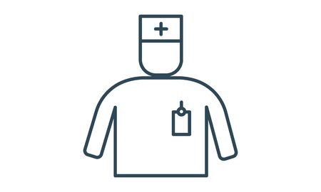 First Aid Man Icon vector image