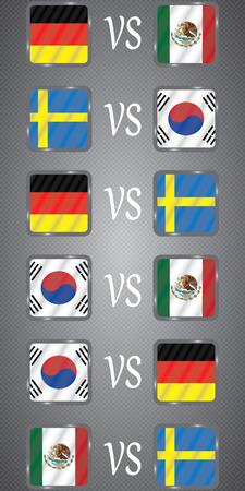 Russia World Football Championship Group F