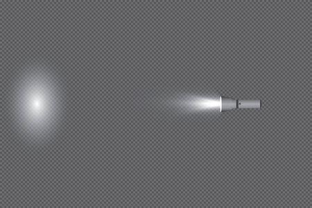 Glowing pocket torch light