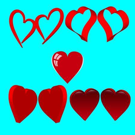 Valentine's day, love. Heart with the inscription. Archivio Fotografico - 138322082