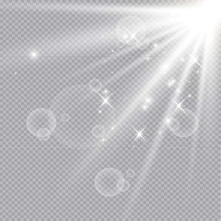 Vector Light Effect Spotlight. Archivio Fotografico - 157299713