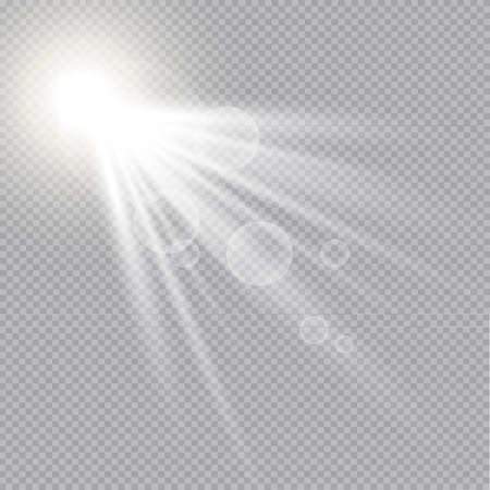 Vector Light Effect Spotlight. Vettoriali
