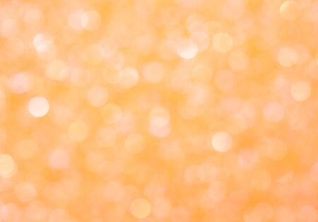 Abstract orange background, texture with glowing effect bokeh Foto de archivo