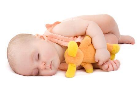 Baby sleeps  Stock Photo - 8890309