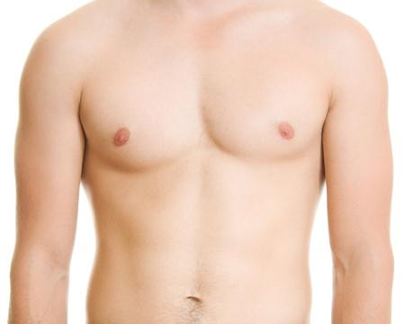 homme nu: Un homme avec un torse nu.