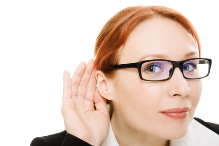 Close up of woman Stock Photo