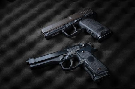 pistols: Double automatic pistols