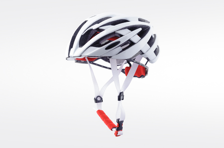 Bicycle helmet isolated on white background