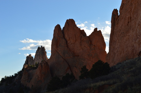 formations: Garden of the gods