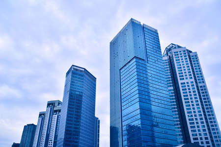 buildings in Seoul's business center