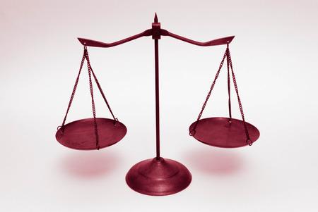 coincidir: balanza Foto de archivo