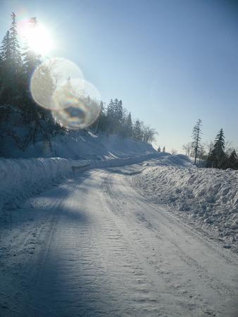 snow road: snow road