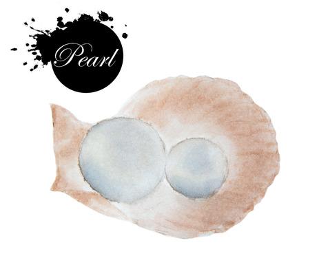 Watercolor drawing of Pearl