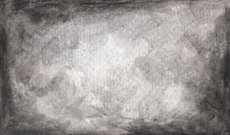 Art paper texture for background in black, grey and white colors. watercolor illustration.