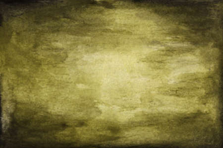 Blurred vintage green background, Dark green abstract watercolor texture background.