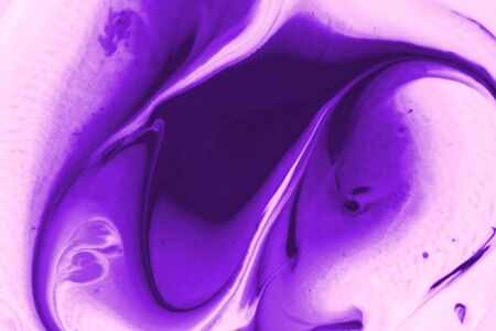 Purple background from liquid and color combinations Imagens