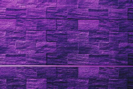 Proton purple background of cement or brick floors for design Banque d'images - 134871071