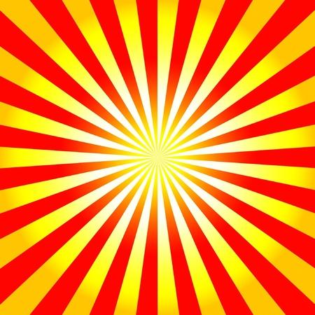 RED WALLPAPER: Light red-yellow burst background