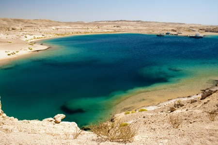 turquoise water: A red sea coast . Clear  Turquoise water