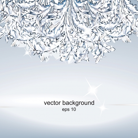 Crystal ice background. Stock Vector - 15604352