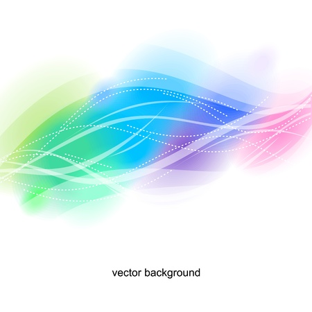 Multicolor abstract light background
