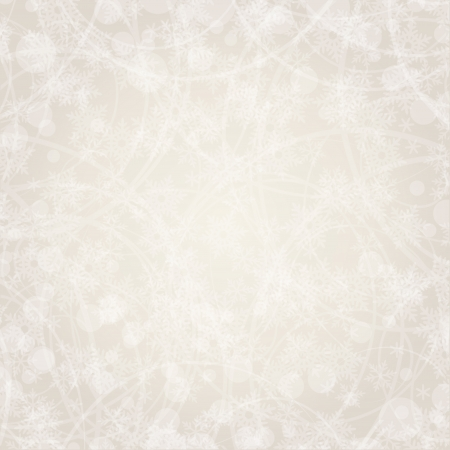 holiday picture: Easy background with snowflakes