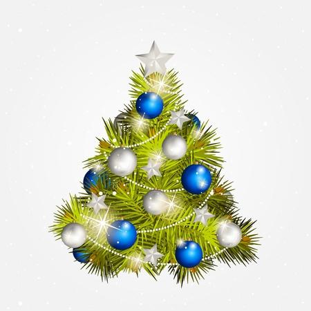 nowy rok: Nowe drzewo Rok z zabawkami