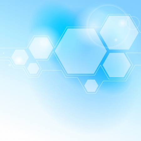 Abstract light blue background.  Illustration