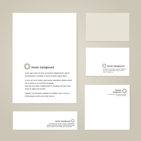 printing house: Corporate identity - the form, business cards, banner.