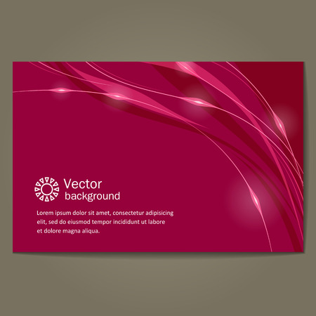 background scenery: Banner with a neutral background. A vector.