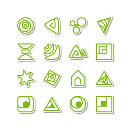 Set - miscellaneous icons. A vector.