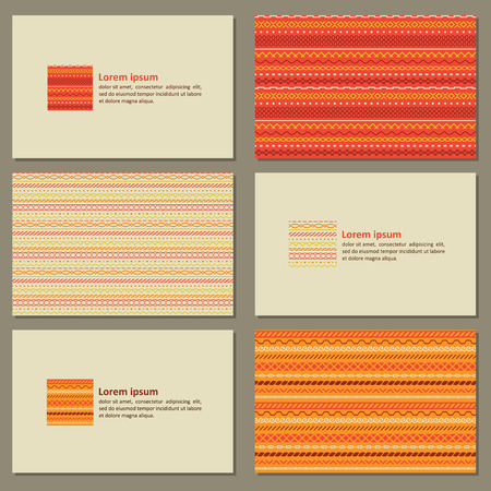 neutral: Set of neutral business cards. Vector.