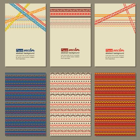 neutral: Set of neutral business cards. Illustration