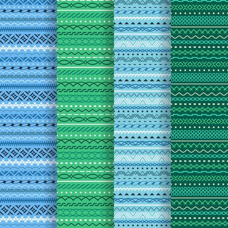 Geometric seamless texture. A vector.