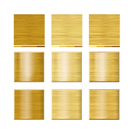 set - seamless natural texture. 3 colors. A vector. Illustration