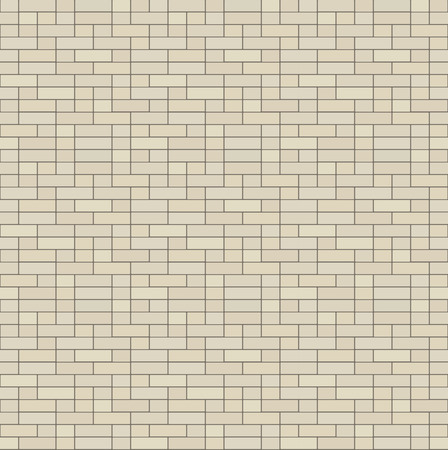 Simple seamless texture - brick, stone wall. Vector illustration.